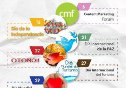 México Septiembre infografía
