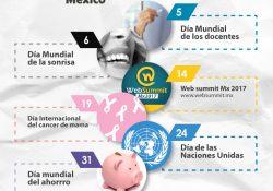 Infografía Octubre México